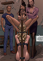 Kitty Hand fansadox 538 Classmates Claire's tale 4 - The final tale in Claire's adventure comes to you hard, hot, and heavy in this cunt busting blaster of a comic
