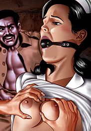 Enslaved nurses - She just loves shovin' her fist into tiny holes by De Haro