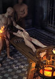 The inquisition 05 - Your body will soon understand even if your mind does not by Agan Medon